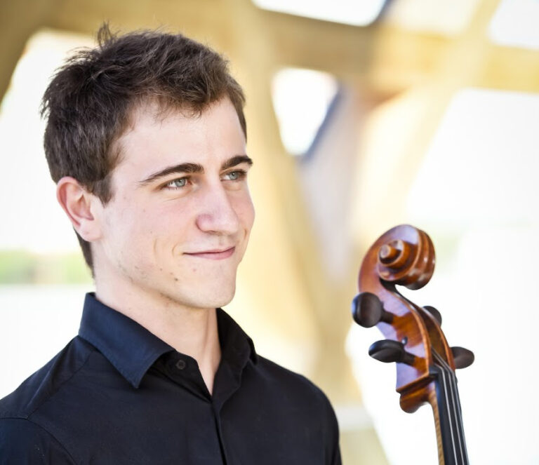 Cellist, Maxime Quennesson has won First Prize in the second annual Lillian and Maurice Barbash J.S. Bach Competition for strings.